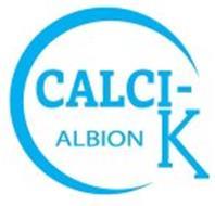 C CALCI- K ALBION