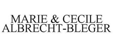 MARIE & CECILE ALBRECHT-BLEGER