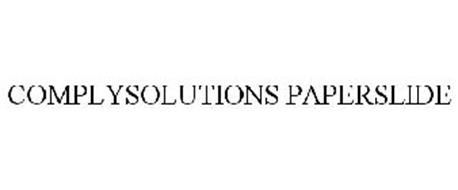 COMPLYSOLUTIONS PAPERSLIDE