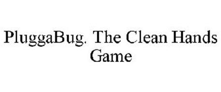 PLUGGABUG. THE CLEAN HANDS GAME