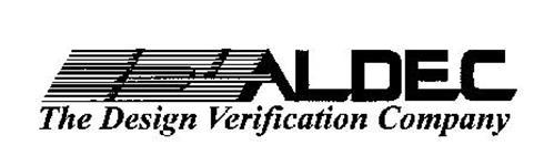 ALDEC THE DESIGN VERIFICATION COMPANY
