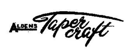 ALDENS TAPERCRAFT
