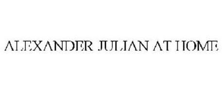 ALEXANDER JULIAN AT HOME