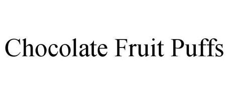 CHOCOLATE FRUIT PUFFS