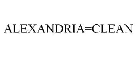 ALEXANDRIA=CLEAN