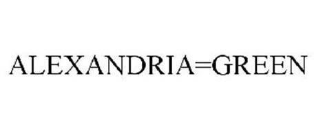 ALEXANDRIA=GREEN