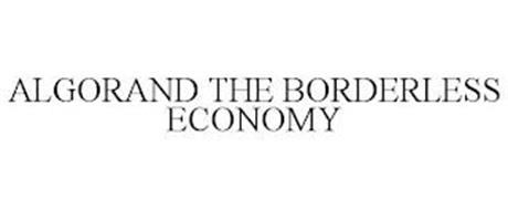ALGORAND THE BORDERLESS ECONOMY