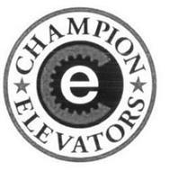 CHAMPION ELEVATORS E