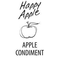 HAPPY APPLE APPLE CONDIMENT