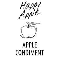 HAPPY APPLE APPLE CONDIMENT