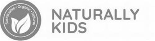 SUSTAINABLE ORGANIC NATURAL NATURALLY KIDS
