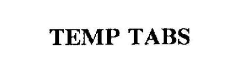 TEMP TABS