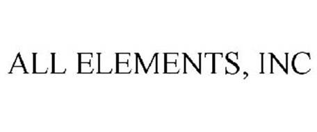 ALL ELEMENTS, INC