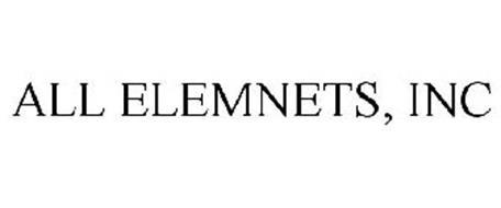 ALL ELEMNETS, INC