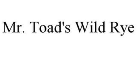 MR. TOAD'S WILD RYE
