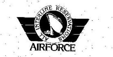 ALL INTERLINE RESERVATIONS AIRFORCE