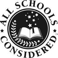 ALL SCHOOLS CONSIDERED