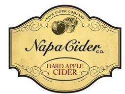 NAPA CIDER COMPANY NAPA CIDER CO. HARD APPLE CIDER