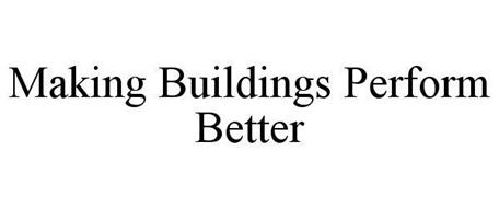 MAKING BUILDINGS PERFORM BETTER