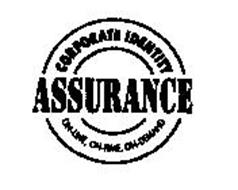 CORPORATE IDENTITY ASSURANCE ON-LINE, ON-TIME, ON-DEMAND