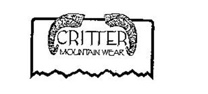 CRITTER MOUNTAIN WEAR