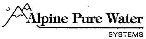 ALPINE PURE WATER SYSTEMS