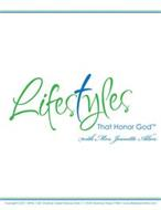 LIFESTYLES THAT HONOR GOD WITH MRS. JEANETTE ALLEN