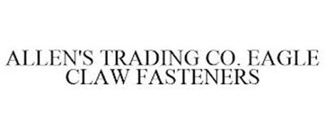 ALLEN'S TRADING CO. EAGLE CLAW FASTENERS