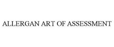 ALLERGAN ART OF ASSESSMENT