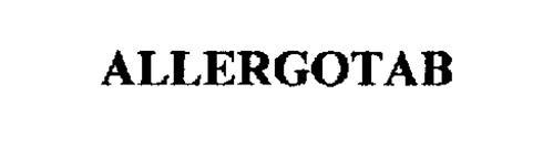 ALLERGOTAB