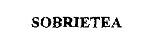SOBRIETEA