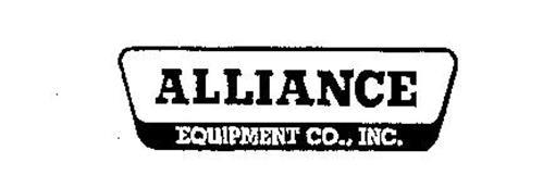 ALLIANCE EQUIPMENT CO., INC.