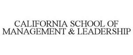 CALIFORNIA SCHOOL OF MANAGEMENT & LEADERSHIP