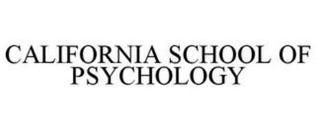 CALIFORNIA SCHOOL OF PSYCHOLOGY