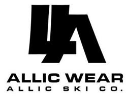 LLA ALLIC WEAR ALLIC SKI CO.