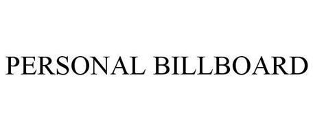 PERSONAL BILLBOARD