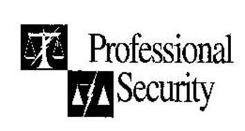 PROFESSIONAL SECURITY