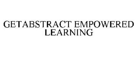 GETABSTRACT EMPOWERED LEARNING