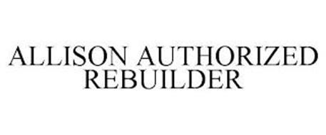 ALLISON AUTHORIZED REBUILDER