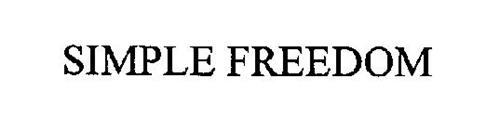 SIMPLE FREEDOM