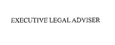 EXECUTIVE LEGAL ADVISER