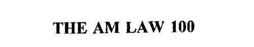 THE AM LAW 100