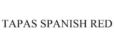 TAPAS SPANISH RED
