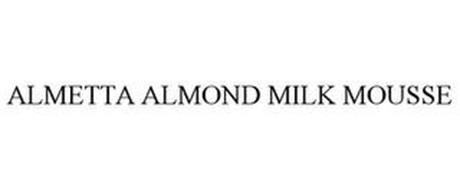 ALMETTA ALMOND MILK MOUSSE