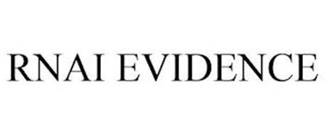 RNAI EVIDENCE