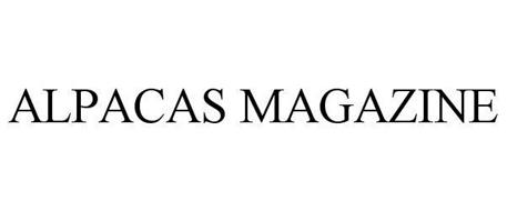 ALPACAS MAGAZINE