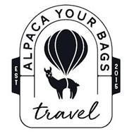 ALPACA YOUR BAGS TRAVEL