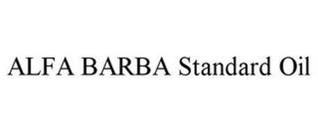 ALFA BARBA STANDARD OIL