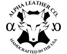 ALPHA LEATHER CO. HANDCRAFTED IN THE USA