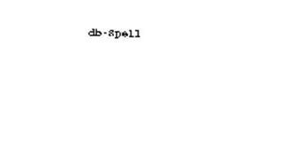 DB-SPELL